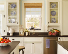 Camelia Court traditional kitchen