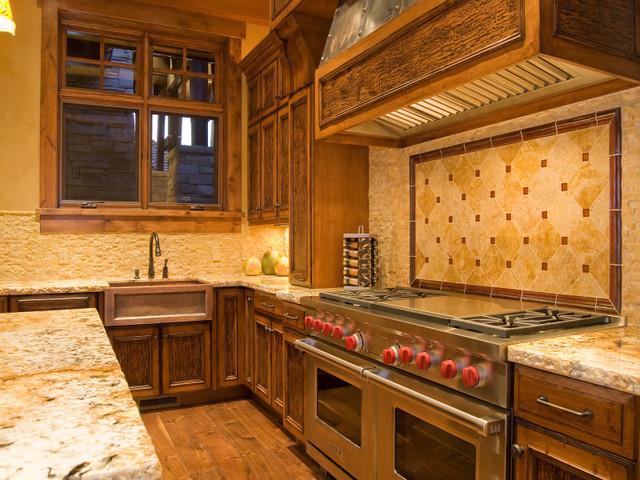 Cameo Homes in Park City, Utah kitchen