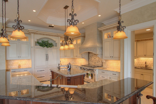 Cameron Residence traditional-kitchen