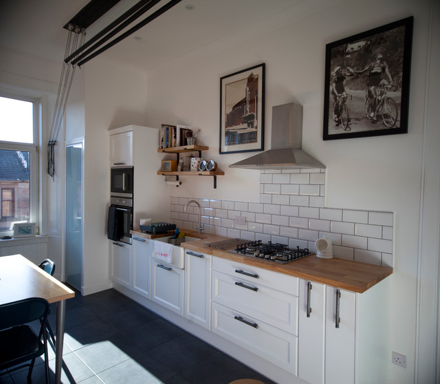 Campbell s kitchen Rustic Kitchen Glasgow by Atlas