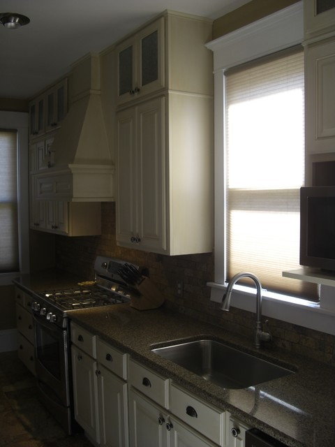 Campbell Street Remodel traditional-kitchen