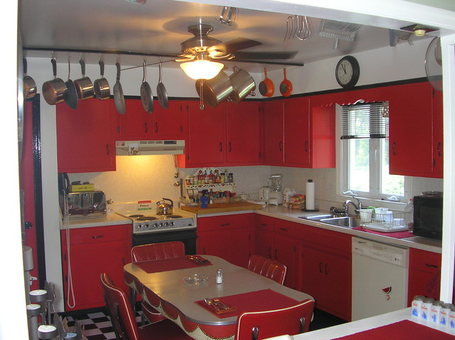 Fifties Kitchen Decorating Ideas