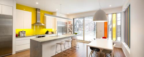 Modern Kitchen By Ottawa Architects U0026 Building Designers LineBox Studio