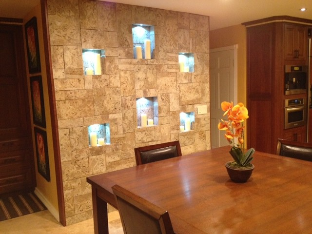 Candle Wall2 traditional-kitchen