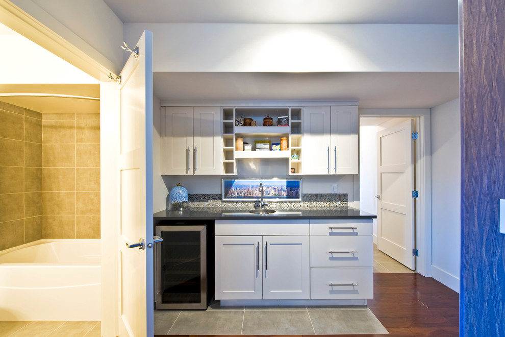 Canmore Renovation - Contemporary - Kitchen - Calgary - by ...