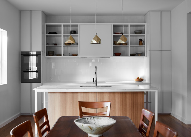 Canopy House Modern Kitchen Melbourne By Mihaly Slocombe