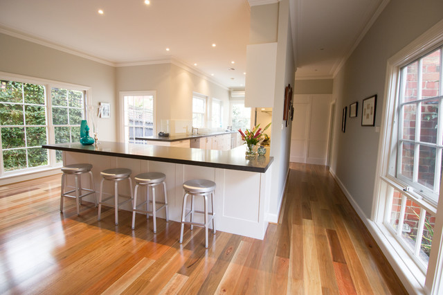Canterbury Kitchen Contemporary Kitchen Melbourne By The Kitchen Design Centre