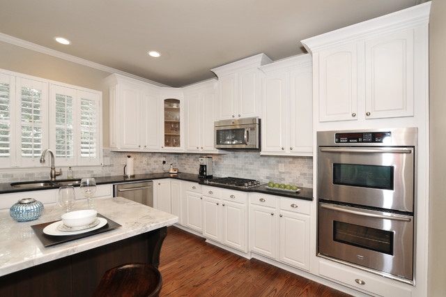 Canton Kitchen Cabinet Makeover From Maple To Off White