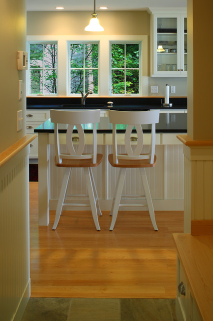 Lake House  Contemporary  Kitchen  portland maine  by By Design