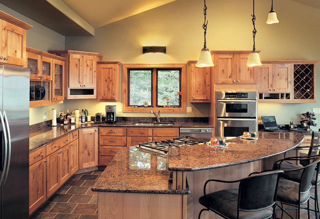 Canyon Creek Cornerstone - Valley Forge in Rustic Maple with a natural finish - Traditional ...