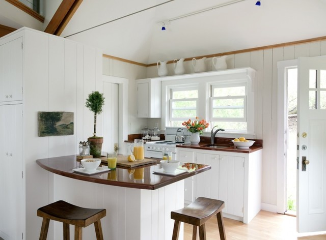 Beachfront Cottage - Renovations and Additions traditional kitchen