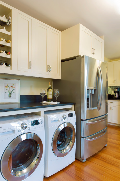 Exceptional What Is The Depth Of The Countertop That Is Over The Washer And Dryer?