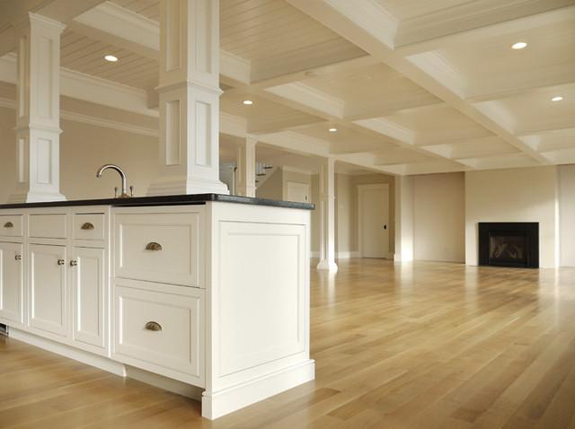 cool cape cod kitchen island design | Cape Cod Classic Kitchen - Beach Style - Kitchen - Boston ...