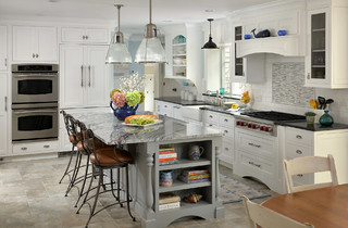Cape Cod Classic Kitchen - Beach Style - Kitchen - other metro - by Cape & Island Kitchens