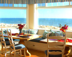 Cape Cod Dining Room beach-style-kitchen