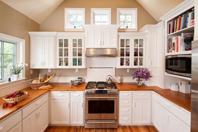 Cape cod additions traditional kitchen portland by for Cape cod kitchen design ideas