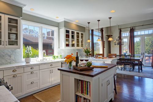 Think Crisp, Airy And Spacious As You Design A Perfect Cape Cod Kitchen