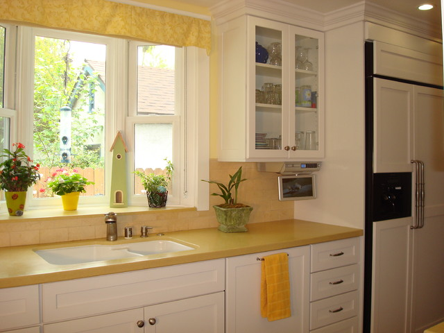 charming Kitchen Remodel Pasadena Ca #3: Cape Cod kitchen remodel in Pasadena, CA eclectic-kitchen