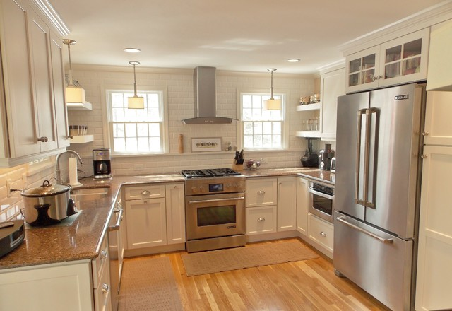 Cape cod kitchen transitional kitchen boston by Cape cod style kitchen design