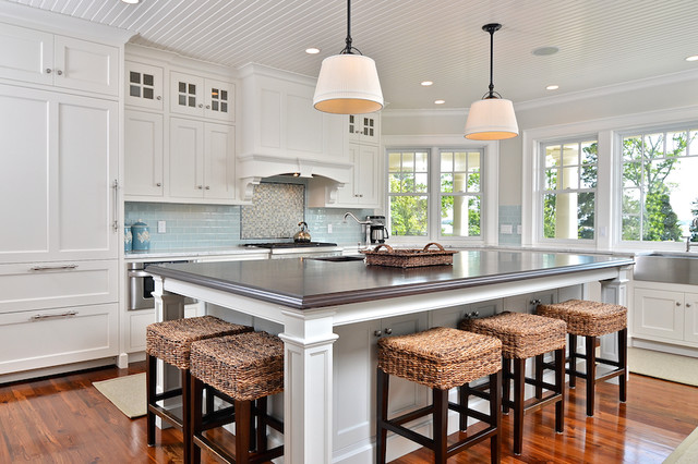 Cape Cod Shingle Style traditional-kitchen