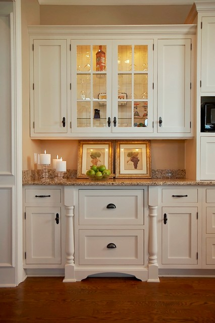 Cape Cod, Shingle style lake home - traditional - kitchen ...