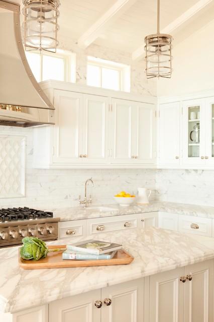 Cape Cod Style in Laguna Beach, CA - beach style - kitchen ...