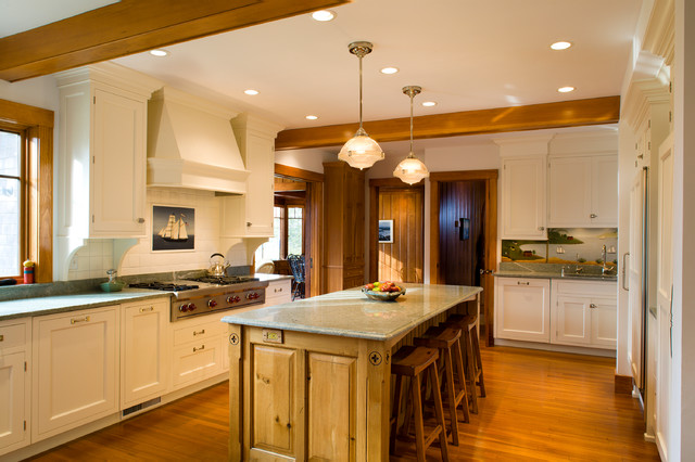 Cape Cod Summer Residence Traditional Kitchen
