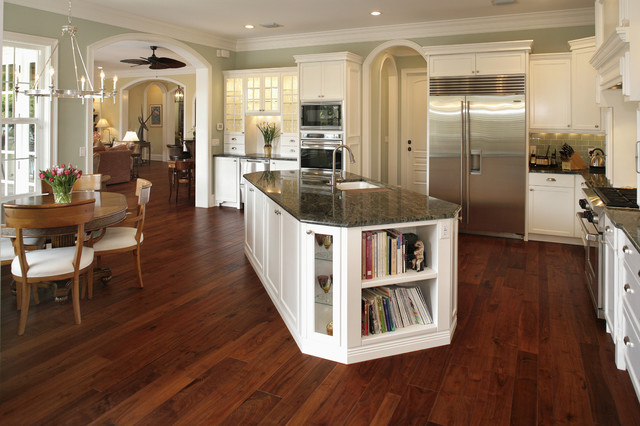 Cape cod traditional kitchen for Kitchen cabinets 45 degree angle