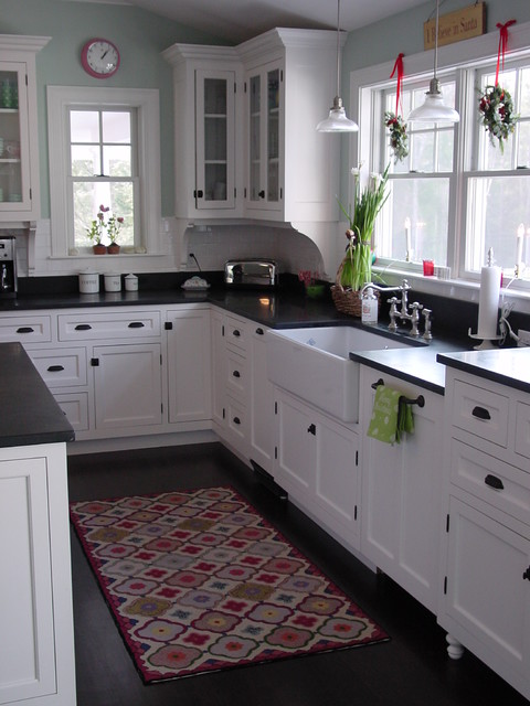Cape Elizabeth Kitchen traditional kitchen