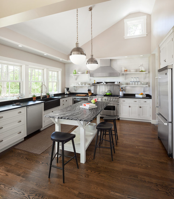 Cape Porpoise Residence - Transitional - Kitchen - Portland Maine ...