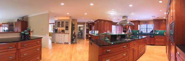 Cape Renovation traditional-kitchen