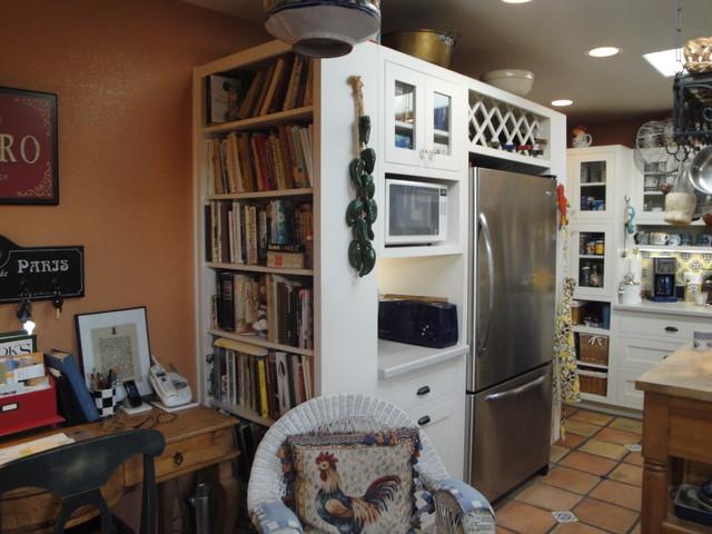 Capistrano Bungalow Kitchen Remodel mediterranean-kitchen