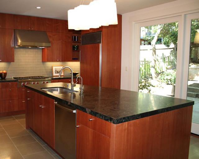 Capistrano street berkeley contemporary kitchen for Kitchen cabinets berkeley