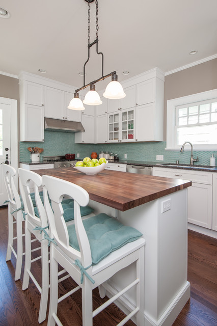 Capitol Hill Dutch Colonial traditional-kitchen