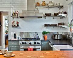 Capital Hill Kitchen transitional-kitchen