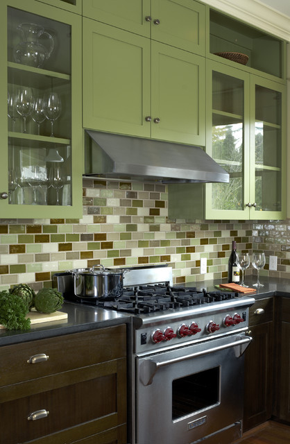 Capitol Hill Residence traditional-kitchen