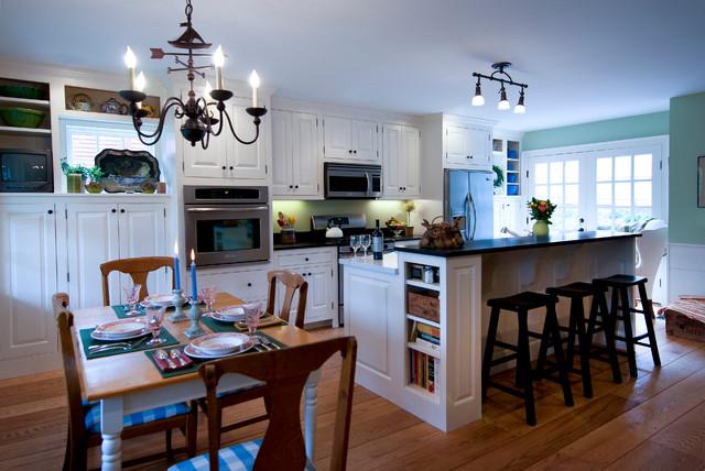 Captain Sutton House traditional-kitchen