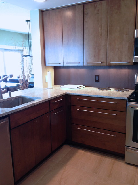 Captains Walk contemporary-kitchen