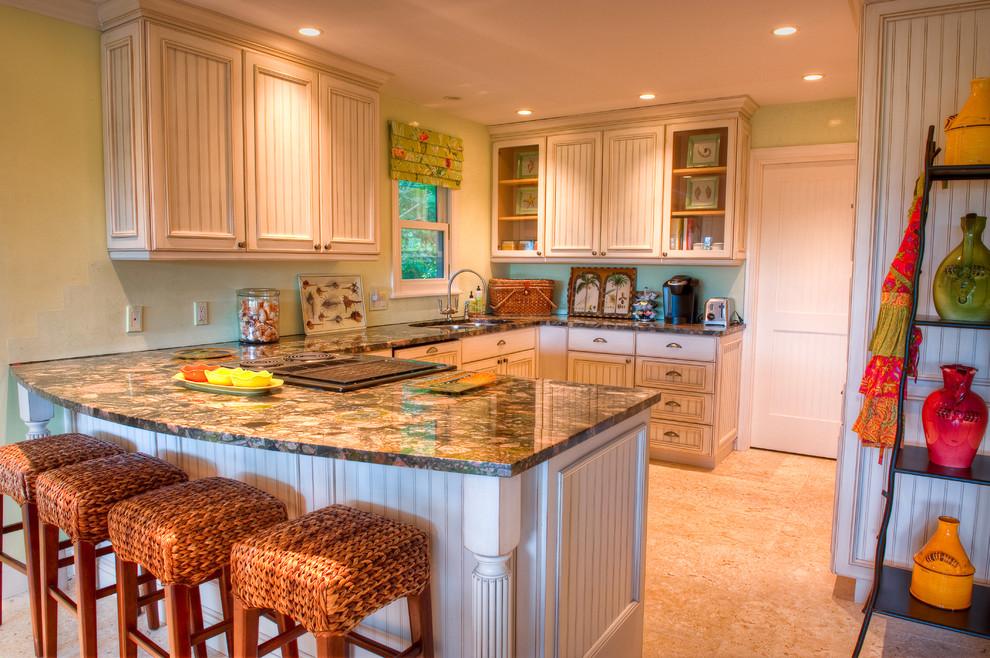 Captiva Bayside Residence Traditional Kitchen Tampa
