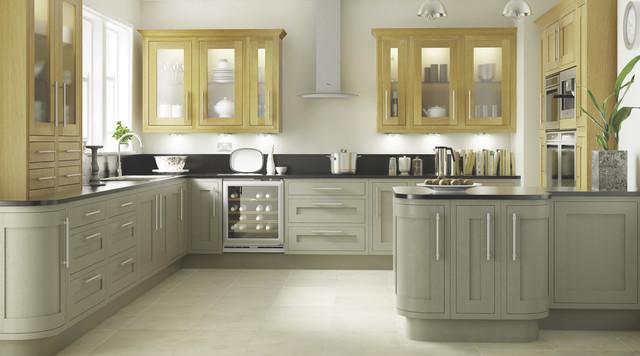 Carisbrooke Taupe Kitchen Contemporary Kitchen Hampshire