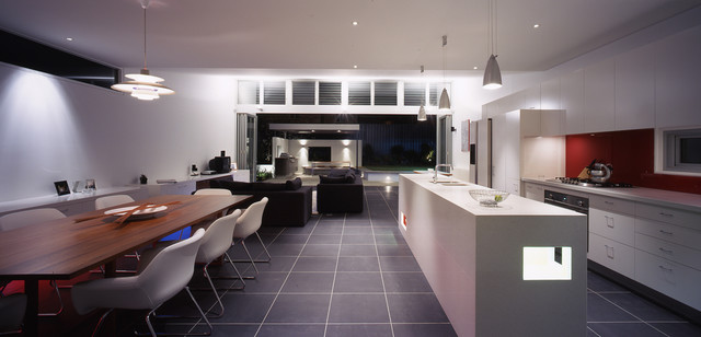 Caristo House contemporary kitchen