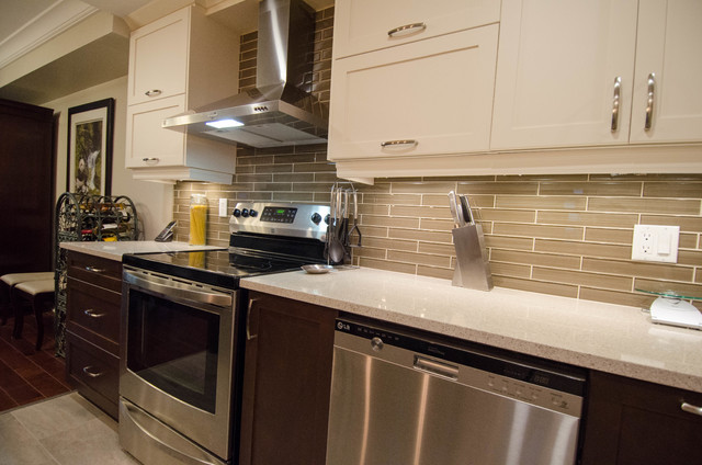Carling Ave Kitchen Renovation Modern Kitchen Ottawa By Ottawa General Contractors