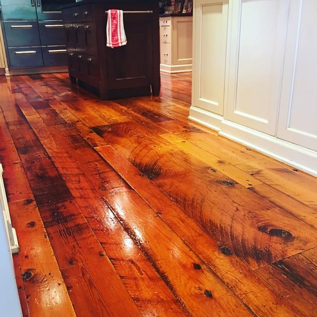 Carlisle reclaimed flooring summit nj rustic kitchen newark