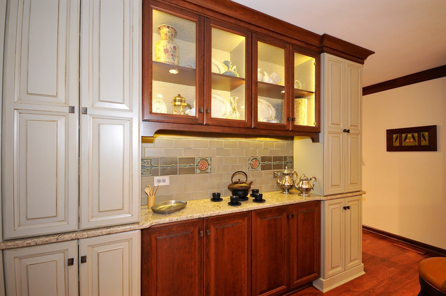 Carmel Arts and Crafts Remodel traditional-kitchen