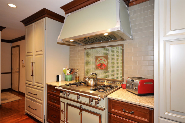 Carmel Arts and Crafts Remodel transitional-kitchen