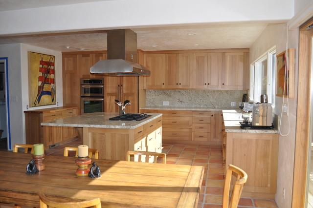 Carmel Beach House traditional-kitchen