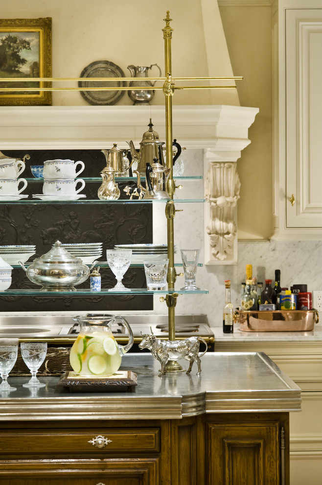 French country kitchen photo in San Francisco