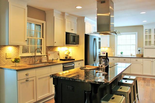 Carmel IN Dramatic Kitchen Transformation Transitional Kitchen