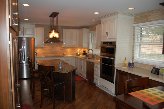 Carmel Indiana kitchen expansion and remodel traditional-kitchen