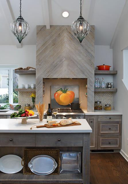 Carmel Residence - Beach Style - Kitchen - other metro - by Katie Grantz Interior Design